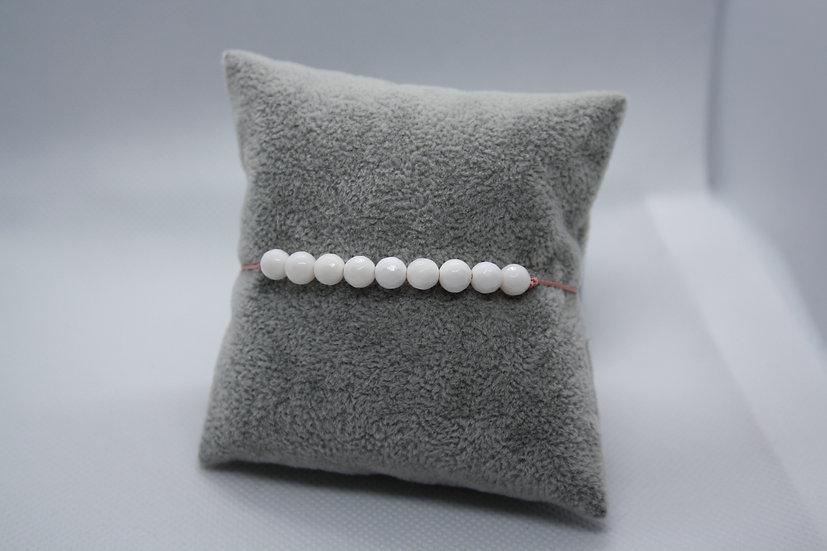 Bracelet Perles Bénitier