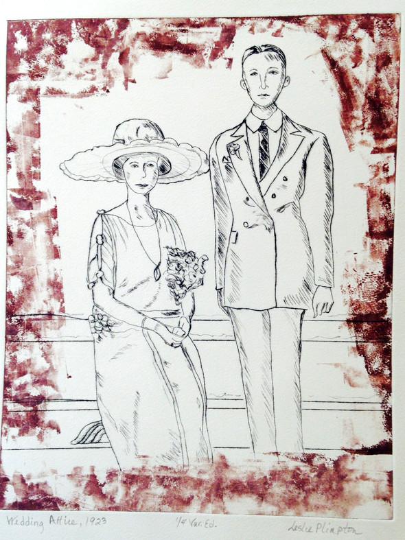 Wedding Attire, 1923