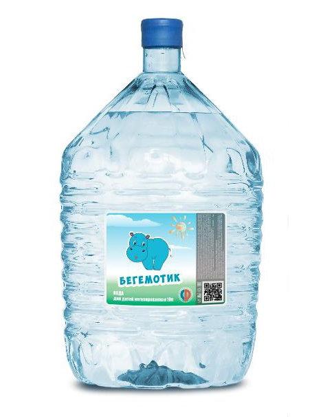 Вода Бегемотик необоротная