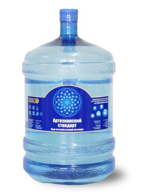 Вода Артезианский Стандарт оборотная