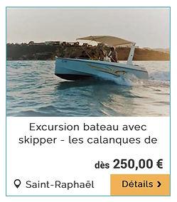 Sortie en mer Excursion en bateau