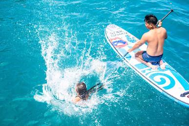 s'amuser en paddle