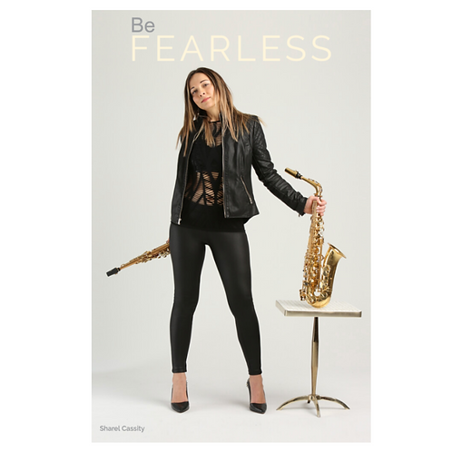 """Be Fearless"" 12x18 Poster"