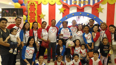 1 with other Let It Echo Heart Families.