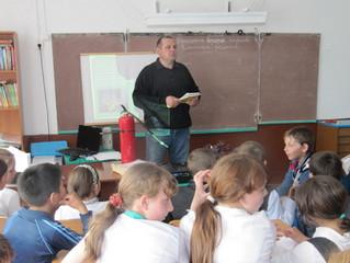 Открытые уроки ОБЖ для учеников начальных классов в селе Идринское