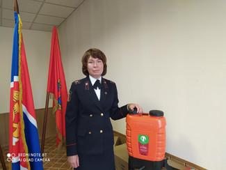МТС помогает справиться с огненной стихией