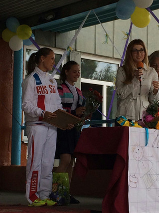 Поздравление юной спортсменки из Красноярского края – чемпионки мира