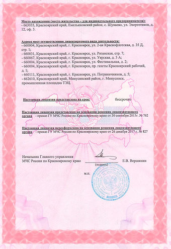 Лицензия на пожаротушение_ЕМО_Страница_2