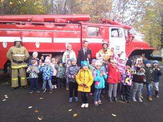 Профилактическая работа с детьми в Пожарной части по обслуживанию АО «Красноярская ТЭЦ-1» ООО ЕМО ВД