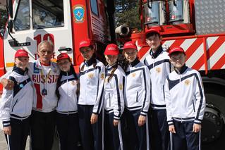 VIII Всероссийский слет лидеров дружин юных пожарных.