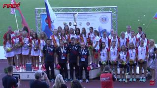 Российская команда девушек стала чемпионом мира по пожарно-спасательному спорту