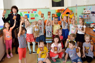 Кукольный спектакль по пожарной безопасности для детей МБДОУ №248 г. Красноярска