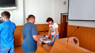 """Обучение волонтеров проекта """"Защитим город от пожара"""""""