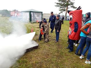 Пожарная безопасность в рамках «Саянского птичьего фестиваля»