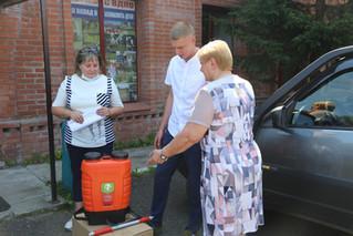 Поддержка пожарных добровольцев силами МТС и ВДПО