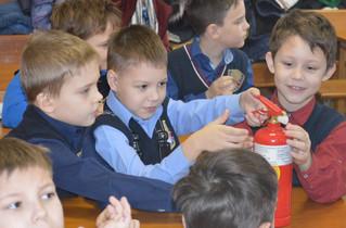 Пожарная безопасность для школьников