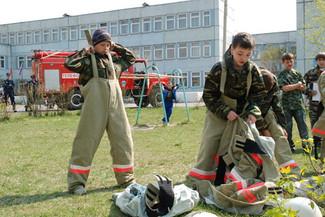 Клубы добровольных пожарных Красноярского края