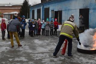 Пожарная безопасность для первоклассников МБОУ СШ №45