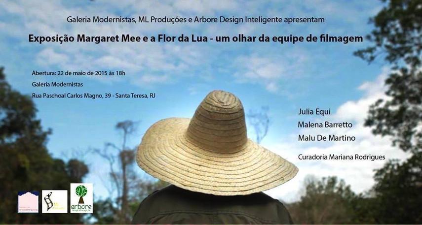 Ambientação e curadoria - Expo Margareet Mee e a Flor da Lua, galeria Modernistas, RJ