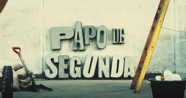 Ambientação de cenário e produção de arte - abertura Papo de Segunda, GNT
