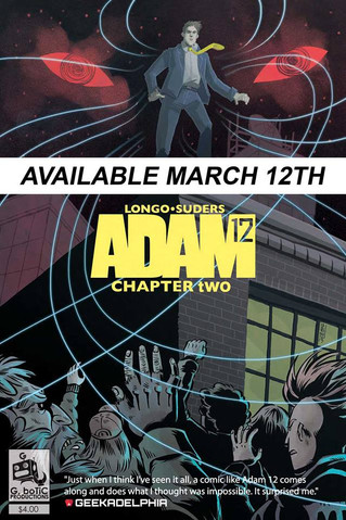 ADAM 12 - CHAPTER 2, TROUBLED WATERS ON SALE MARCH 12th - PRE-ORDER NOW