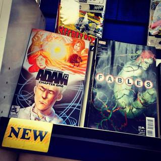 It's NEW Comic Book Wednesday!