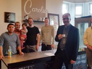 Weihbischof Peters besucht die Fazenda Haus Sabelsberg