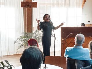 Brasilianische Sängerin zu Gast auf Fazenda Bickenried