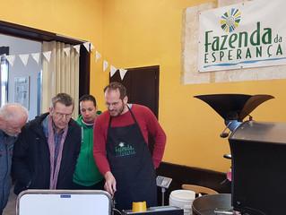 Kaffee-Rösterei der Fazenda