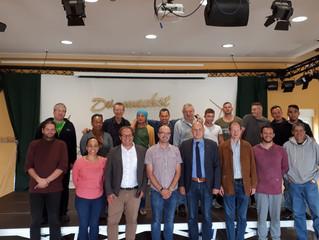 Landrat und Bürgermeister besuchen Gut Neuhof