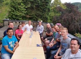 Jugendgruppe lebt auf Fazenda Boppard mit