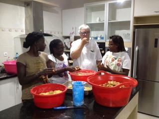 Fazenda in Angola: voller Leben!