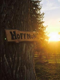 Hoffnung ist der Mittelpunkt
