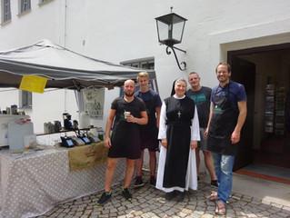 Kaffeeverkauf in der Abtei Oberschönenfeld