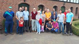 Stifter der Kapelle besucht Fazenda Gut Neuhof