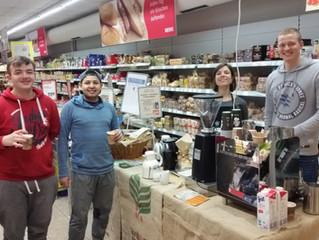 Kaffee-Verköstigung bei Rewe in Boppard