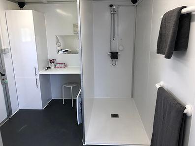 temporary bathroom mobile portable interior bathroom