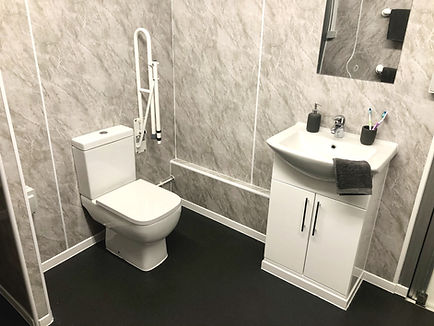 portable temporary bathroom pod mobile