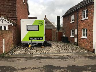 driveway kitchen temporary mobile portable kitchen