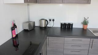 Temporary Kitchen Pod - Interior