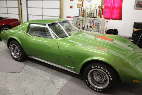 75 Bright Green Coupe