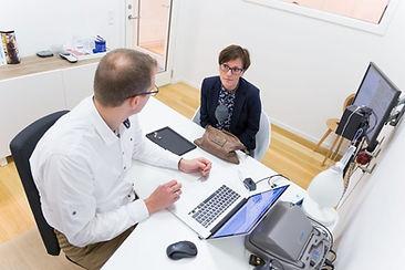 Konsultation om høreapparat