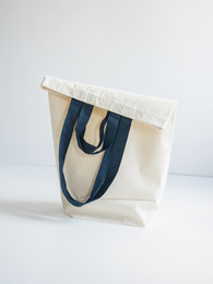 Cotton bags with two sets of handles