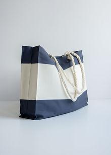 Materiałowa torba plażowa - torby bawełniane hurt