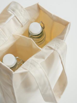Torba na butelki z nadrukiem