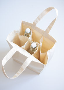 Torba na butelki materiałowa - torby bawełniane producent