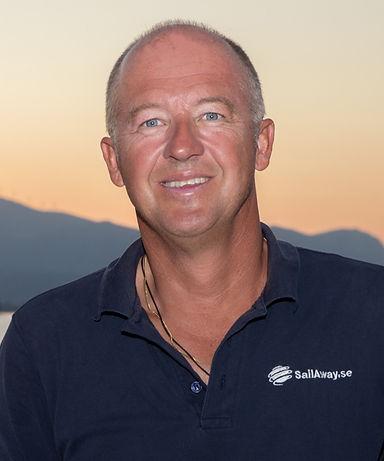 Skeppare Mattias Berglund
