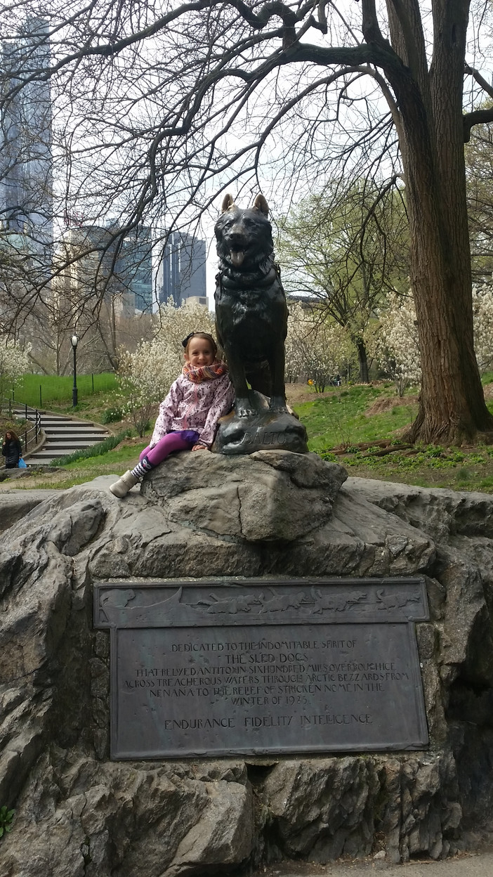 A Day in New York City with Elizabeth