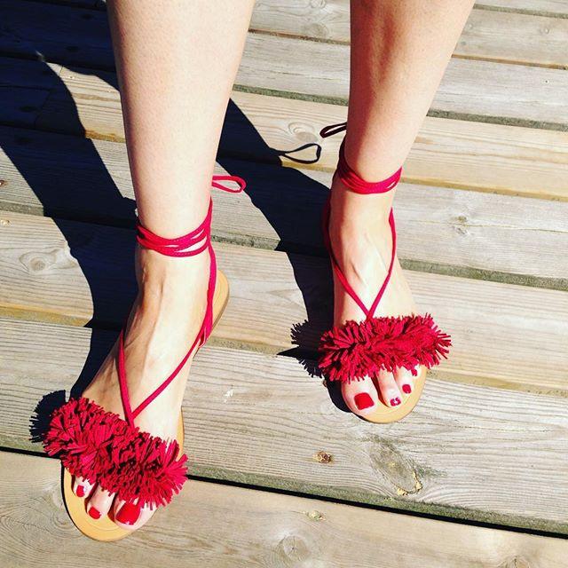 Sandals: Oysho