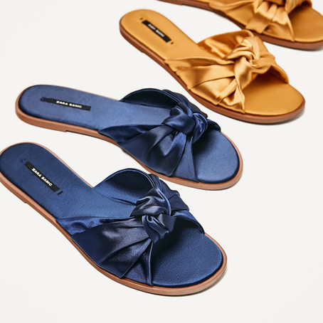 Sunshine, sangria (if you're lucky) and sandals..